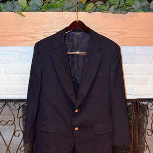 Brooks Brothers 346 Navy Summer Blazer 40S
